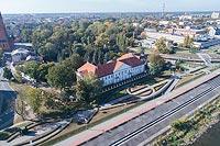 Zamek we Włocławku - Zdjęcie lotnicze, fot. ZeroJeden, X 2018