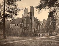 Zamek w Wojnowicach - Robert Weber, Schlesische Schlosser, 1909
