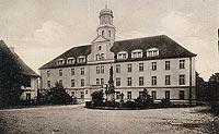 Zamek w Wołowie - Zamek w początkach XX wieku