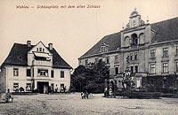 Zamek w Wołowie - Zamek w Wołowie w 1910 roku