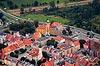 Zamek w Wołowie - Widok z lotu ptaka od północnego-zachodu, fot. ZeroJeden, X 2013