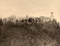 Zamek Grodno w Zagórzu Śląskim - Robert Weber, Schlesische Schlosser, 1909
