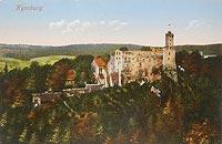 Zamek Grodno w Zagórzu Śląskim - Zamek Grodno około 1920 roku