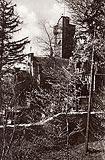 Rajsko - Zamek Rajsko na zdjęciu sprzed 1945 roku