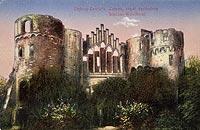 Zamek w Zawadzie - Zamek na widokówce z lat 20. XX wieku