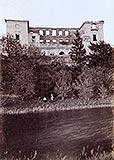 Zamek w Zawieprzycach - Zamek w Zawieprzycach na zdjęciu z okresu międzywojennego