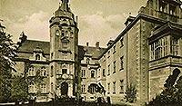 Zamek w Złocieńcu - Zamek w Złocieńcu na pocztówce z lat 20. XX wieku
