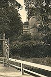 Zamek w Złocieńcu - Zamek w Złocieńcu na zdjęciu z lat 30. XX wieku