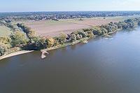 Zamek w Złotorii - Zdjęcie lotnicze, fot. ZeroJeden, X 2018